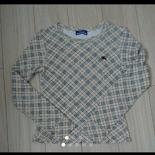 バーバリーブルーレーベル(BURBERRY BLUE LABEL)のバーバリー ブルーレーベル 長袖Tシャツ38(Tシャツ(長袖/七分))