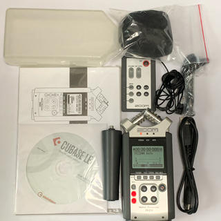 ズーム(Zoom)のZOOM ハンディーレコーダー H4n リモコン付(MTR)