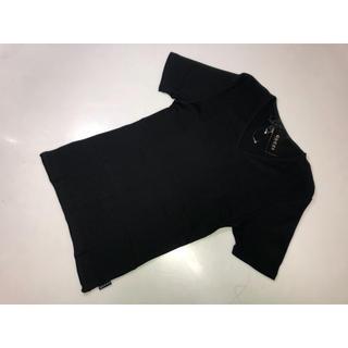 グッチ(Gucci)の61◆グッチ◆半袖ニット 黒系 XXLサイズ Tシャツ Vネック 半袖Tシャツ (Tシャツ(半袖/袖なし))