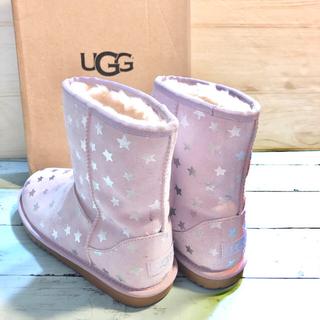 アグ(UGG)のUGG 新品 アグ 正規品 23 ラベンダー スター ショート ムートン ブーツ(ブーツ)