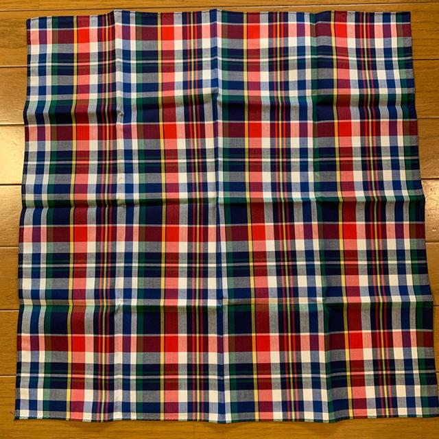 Drawer(ドゥロワー)の★htokyoハンカチ専門店マドラスチェックハンカチ新品 レディースのファッション小物(ハンカチ)の商品写真