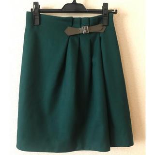 エル(ELLE)のレディース スカート(ひざ丈スカート)
