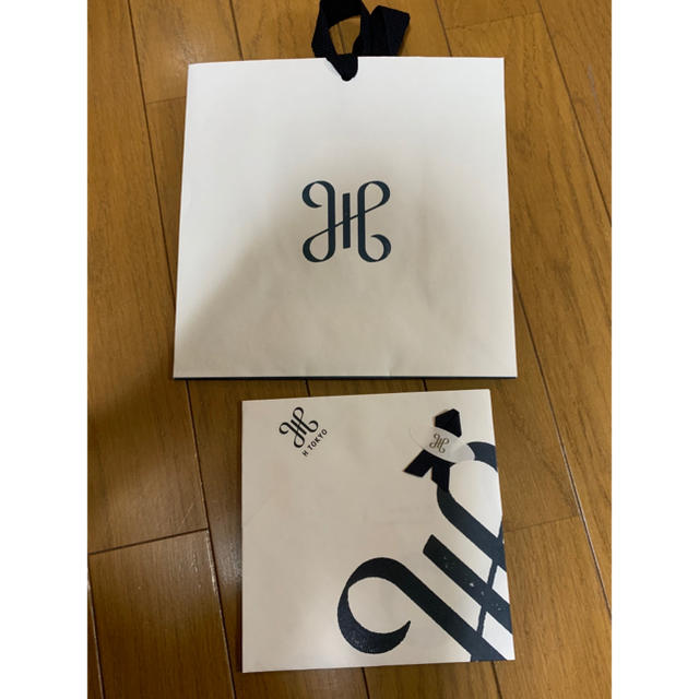 Drawer(ドゥロワー)の★htokyoハンカチ専門店ネイビーストライプツイルハンカチ新品 レディースのファッション小物(ハンカチ)の商品写真