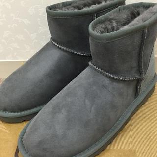 アグ(UGG)のUGG アグ クラシックミニ グレー 5(ブーツ)