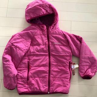 モンベル(mont bell)のピンクと紫のリバーシブルダウン 美品‼️(ジャケット/上着)