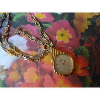 セイコー(SEIKO)の【最終価格】SEIKO レディース ネックレスタイプ 時計(ネックレス)