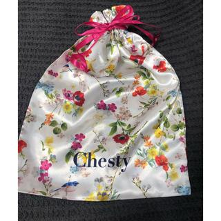 チェスティ(Chesty)のchesty  ノベルティーバック&衣類ケース(ノベルティグッズ)