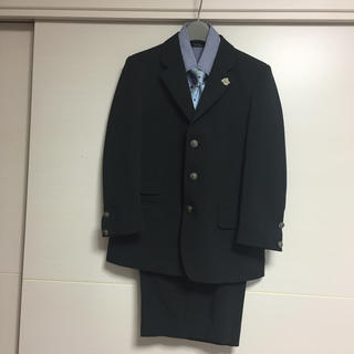 ヒロミチナカノ(HIROMICHI NAKANO)のhiromichi nakano 男児スーツ4点セット130(収納ハンガー付き)(ドレス/フォーマル)