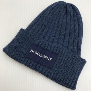 ダブルタップス(W)taps)のディセンダント DESCENDANT BOXLOGO ビーニー キャップ CAP(ニット帽/ビーニー)