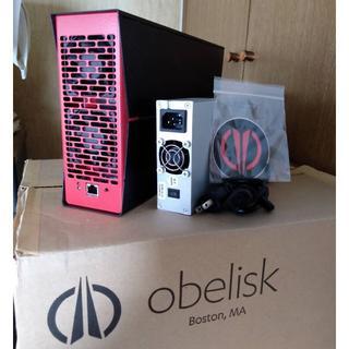 オベリスク(Obelisk)の【ASICマイニング】Obelisk SC1 Slim Gen2◆電源付属♪(その他)