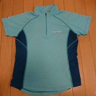 モンベル(mont bell)のmont-bell クール ハーフサイズスリーブジップシャツ(Tシャツ(半袖/袖なし))