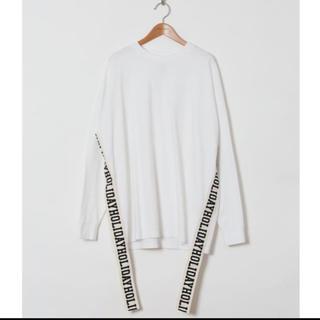 ホリデイ(holiday)のholiday SUPER FINE DRY L/S T-SHIRT WHITE(Tシャツ(長袖/七分))