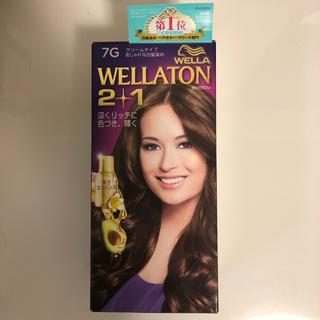 ウエラ(WELLA)のウエラトーン WELLATON 2+1 白髪染め 7G(白髪染め)