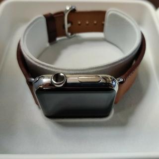 アップルウォッチ(Apple Watch)のapplewatch ステンレス(腕時計(デジタル))