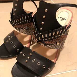FENDI - 値下げ!FENDI サンダル ブーツ