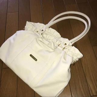 リズリサ(LIZ LISA)のLIZLISA 鞄 白(ハンドバッグ)
