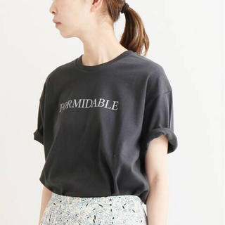 イエナ(IENA)のイエナ ロゴプリントTシャツ(Tシャツ(半袖/袖なし))