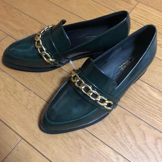 新品 chic muse  ローファー  L(ローファー/革靴)