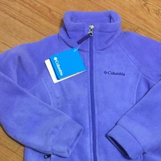 コロンビア(Columbia)の新品 コロンビア Colombia フリース  紫(ジャケット/上着)