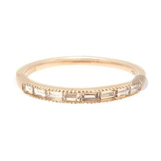 アガット(agete)のagete  アガット  0.3ct ダイヤモンド リング  K10 #9 (リング(指輪))