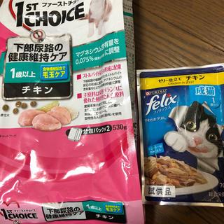 ネスレ(Nestle)のキャットフード ファーストチョイス フィリックス(猫)