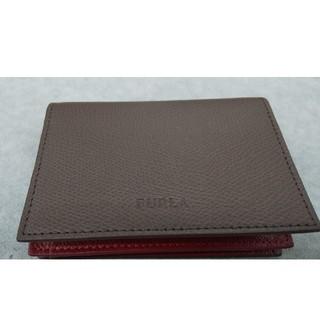 フルラ(Furla)の新品  FURLA  メンズ  カードケース  名刺入れ  ベージュ(名刺入れ/定期入れ)