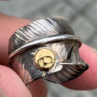 ゴローズ(goro's)のゴローズ リング 指輪 フェザー(リング(指輪))