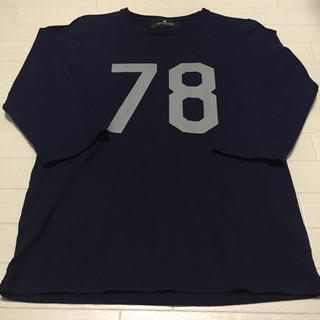 ナノユニバース(nano・universe)の【七分袖 Tシャツ】ナンバーロゴ NANO UNIVERSE Mサイズ(Tシャツ/カットソー(七分/長袖))