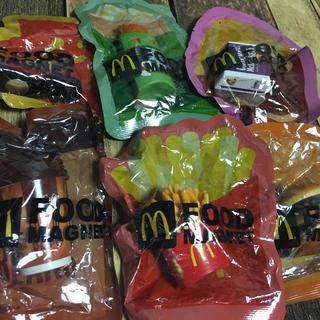 マクドナルド(マクドナルド)のマクドナルド フードマグネット 6種類セット(ノベルティグッズ)