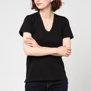 ロンハーマン(Ron Herman)のAURALEE オーラリー VネックTシャツ (Tシャツ(半袖/袖なし))