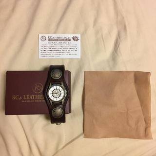 ケイシイズ(KC,s)の【最終価格】KC,s leather craft 腕時計(腕時計(アナログ))