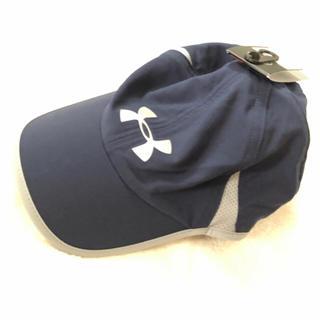 アンダーアーマー(UNDER ARMOUR)のアンダーアーマー UNDER ARMOUR ランニング キャップ 帽子 ネイビー(キャップ)