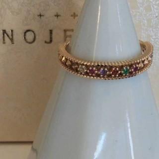 ノジェス(NOJESS)のノジェス リング K10 9号 アミュレット ダイヤ ティアラ エメラルド(リング(指輪))