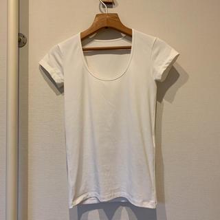セオリー(theory)のレディース   Tシャツ カットソー 白色 【セオリー】(Tシャツ(半袖/袖なし))