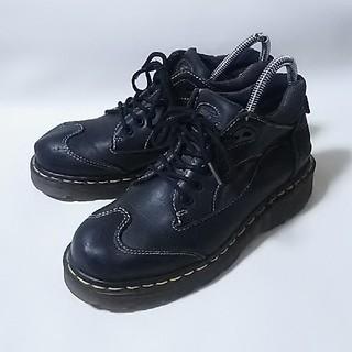 ドクターマーチン(Dr.Martens)の 希少イングランド製!ドクターマーチン高級ダッドブーツ人気ビンテージ黒 24  (ブーツ)