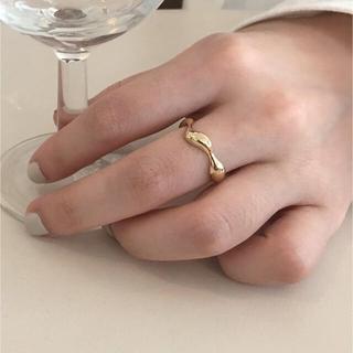 ▫️Silver925▫️Wavy plump ring(リング(指輪))