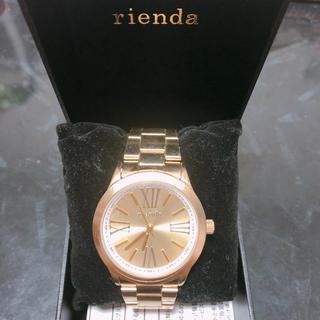 リエンダ(rienda)のrienda GOLD Watch(腕時計)