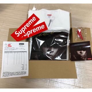 シュプリーム(Supreme)のsupreme mary j blige tee S メアリー 白(Tシャツ/カットソー(半袖/袖なし))