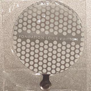ルイヴィトン(LOUIS VUITTON)のLOUIS VUITTON財団美術館 限定☆手鏡(その他)