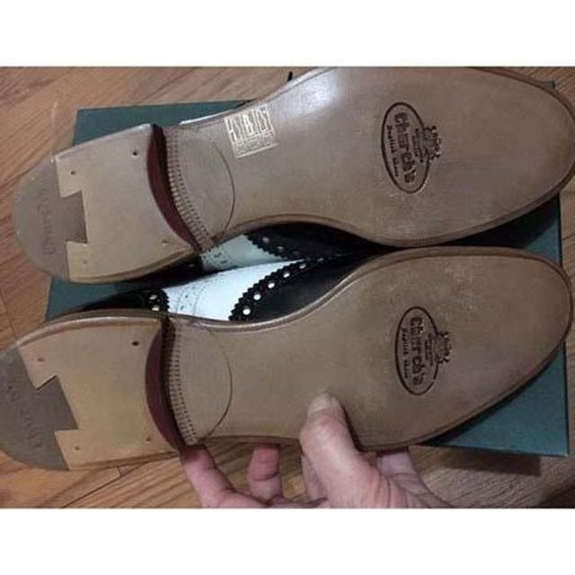 Church's(チャーチ)の新品 チャーチ バーウッド church's BURWOODコンビ レディースの靴/シューズ(ローファー/革靴)の商品写真