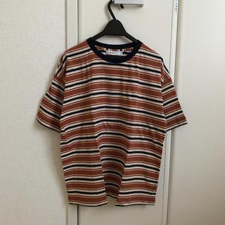 ニコアンド(niko and...)の新品[niko and…]ネップレトロボーダーゆるT(Tシャツ(半袖/袖なし))