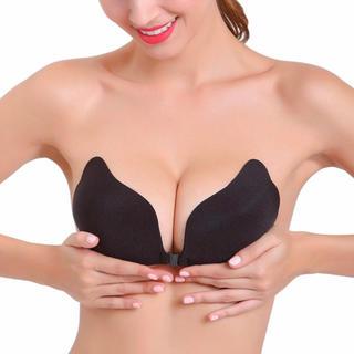 新品 ヌードブラ シリコンブラジャー& シリコンブラ 胸パッド 水着用 ドレス用(ヌーブラ)