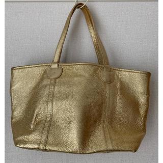 ツモリチサト(TSUMORI CHISATO)のキラキラ✨ TSUMORI CHISATO ツモリチサト バッグ ゴールド(トートバッグ)