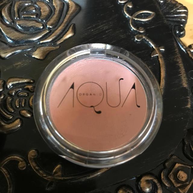 Cosme Kitchen(コスメキッチン)のアクア アクア  オーガニッククリームチーク コスメ/美容のベースメイク/化粧品(チーク)の商品写真