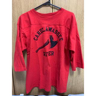 テンダーロイン(TENDERLOIN)のテンダーロイン フットボールシャツ(Tシャツ/カットソー(七分/長袖))