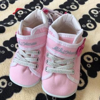ミキハウス(mikihouse)の新品♡ミキハウス 女の子 シューズ スニーカー 靴 12.0(スニーカー)