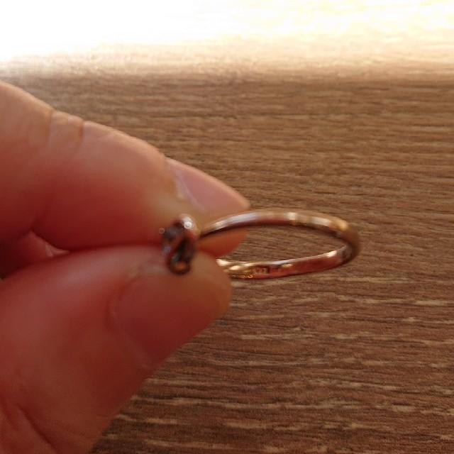 BLOOM(ブルーム)のBLOOMアクアマリンのゴールドの指輪 レディースのアクセサリー(リング(指輪))の商品写真