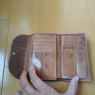 WHITEHOUSE COX - レザー 三つ折り財布 エイジング
