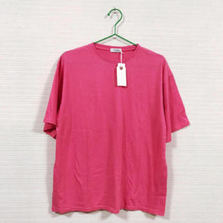 エディション(Edition)の新品 エディション Tシャツ PINK(Tシャツ/カットソー(半袖/袖なし))