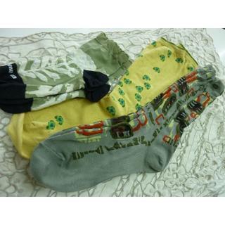 センソユニコ(Sensounico)のセンソユニコ靴下3足未使用あり(ソックス)
